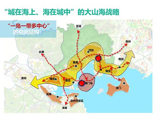 """旅游规划 > 阅读全文  第二,形成""""一岛一带多中心""""的空间结构."""